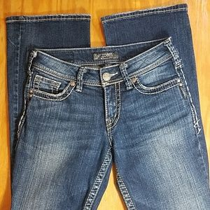 Silver Jeans Jeans - Silver Suki boot cut jeans size 26